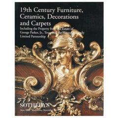 Sotheby's Furniture, Ceramics, Decorations, Estate of George Parker, Jr.