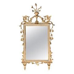 19th/20th Century Italian Carved Giltwood Mirror