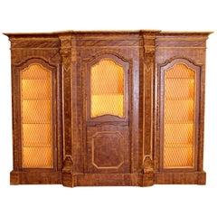 Mid-19th Century Italian Rococo Style Bookcase