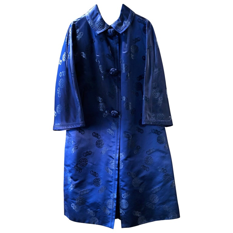 Chinese Handmade Silk Coat For Sale