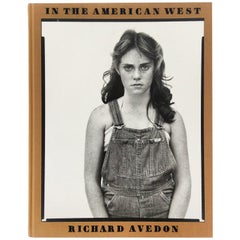 "Richard Avedon Photography Book, ""In the American West"""