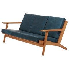Hans Wegner Sofa GE-290 Oak, 1950s