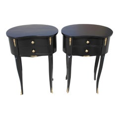 Beautiful Pair of French Louis XV Side Table or Accent Table, 1920s