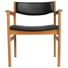 Armchairs '12' Designed by Erik Wørts for FDB Møbler, 1960s