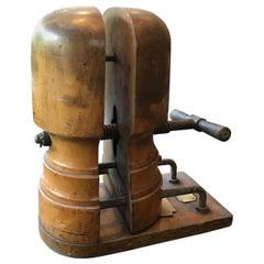 Wooden Hat Stretcher 19th Century