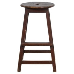 Wooden Stool, 1940s