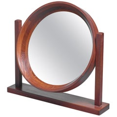 Scandinavian Modern Adjustable Table or Vanity Mirror, 1960s