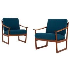 Set of Easychairs by Peter Hvidt & Orla Mølgaard