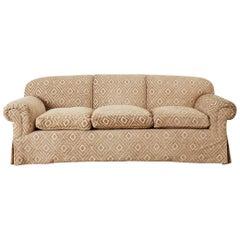 Jonas New York English Style Three-Seat Sofa