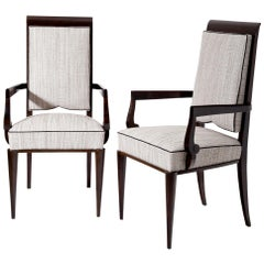 Art Deco Armchairs, Attributed to Jules Leleu, France, 1930s