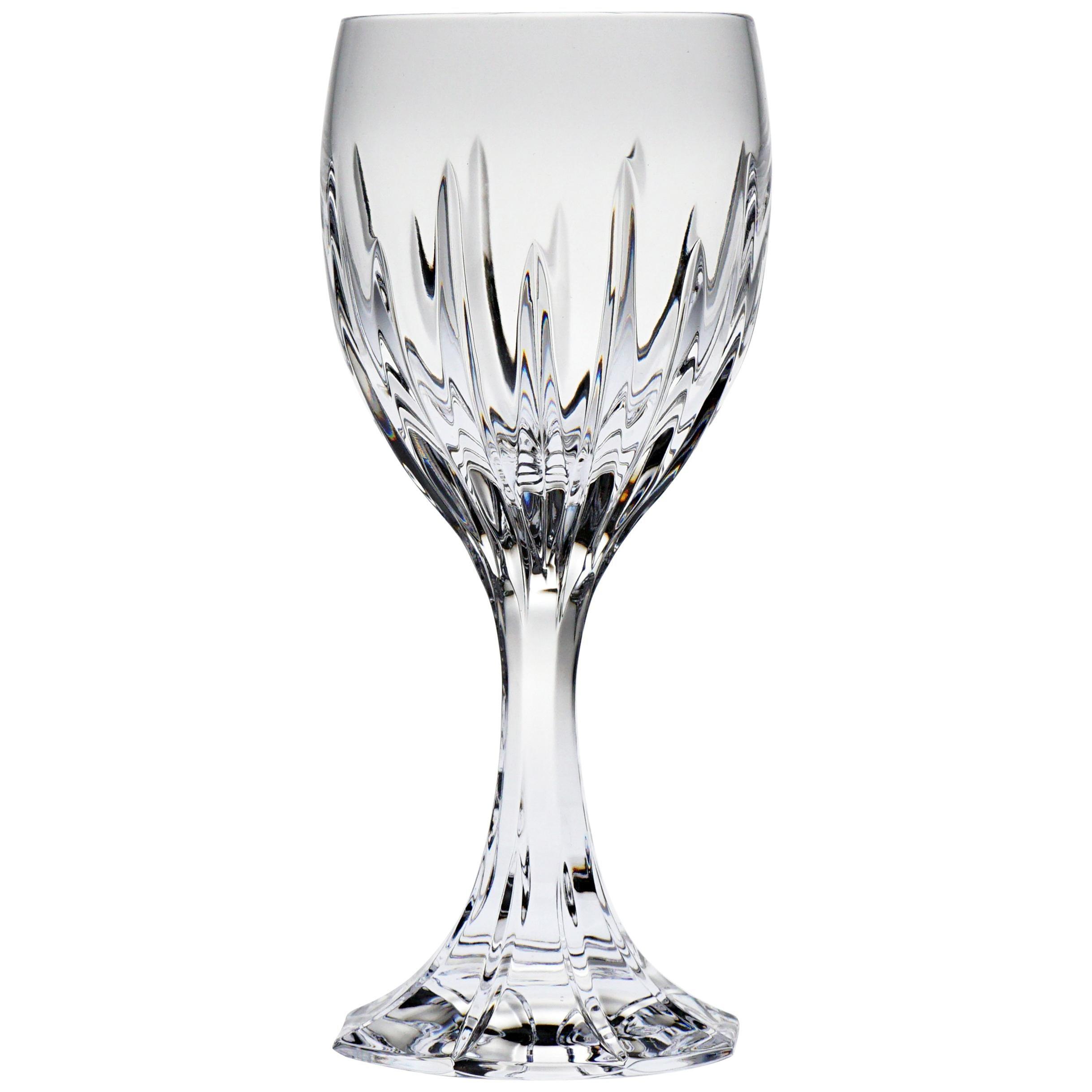 Set of 6 Modern Crystal Glass