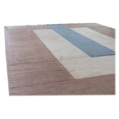 """""""Plain Brown"""" Flat-Weave Wool Rug designed by Cecilia Setterdahl for Carpets CC"""