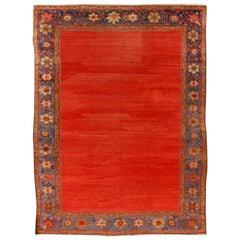 Antique Persian Sultanabad Rug, circa 1880