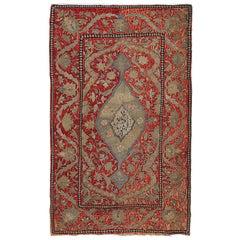 Antique Velvet and Metal Applique, circa 1840