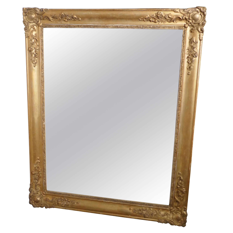 Early 19th Century Gilt Wall Mirror