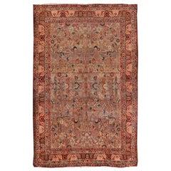 Antique Persian Kirman Rug, Carpet, circa 1890
