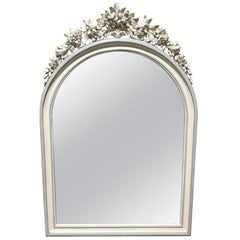 19th Century French Painted Mirror