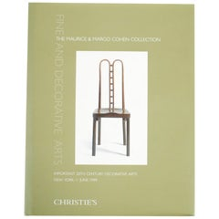 Christie's: Fine and Decorative Arts: The Maurice & Margo Cohen Collection, 5/99