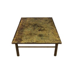 Laverne Rectangular Table with Acid Etched Top