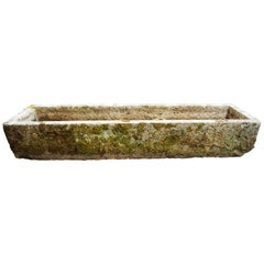 Extra Large Antique French Trough