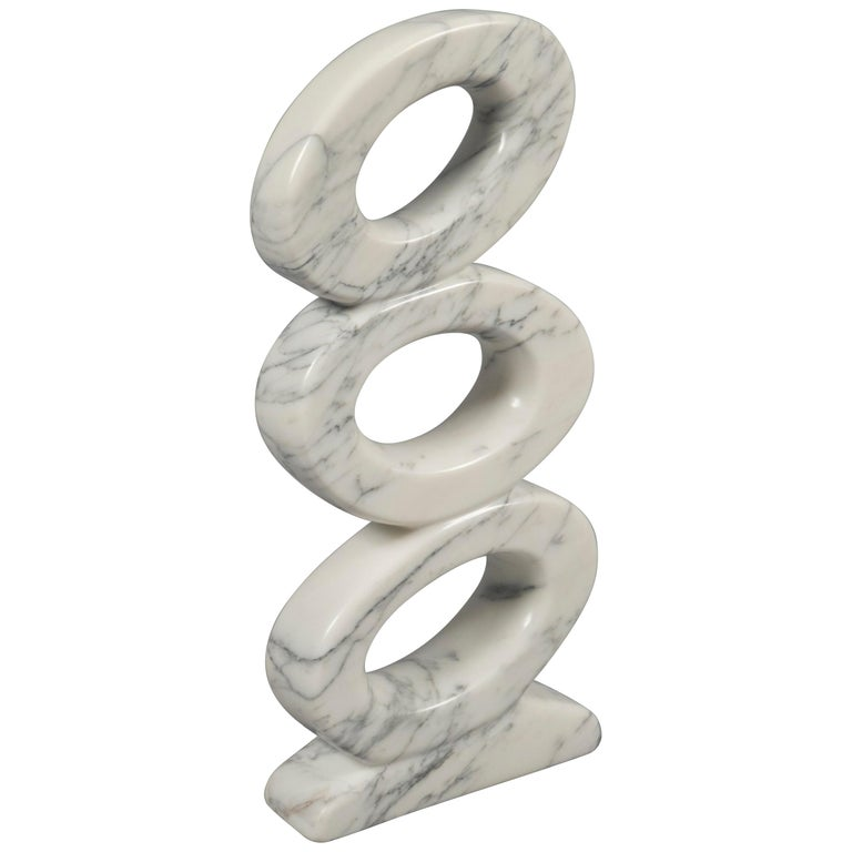 Marble Sculpture by JF Bourdier, France, circa 2016 For Sale