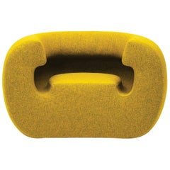 Gufram Roxanne Armchair in Yellow Melange by Michael Young
