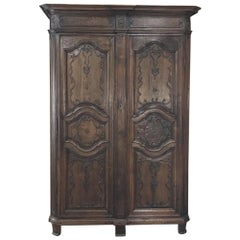 18th Century Country French Provincial Armoire