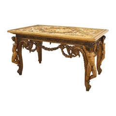 20th Century Hand Carved Table