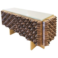 Wood Credenza by Interno 43 for Gaspare Asaro