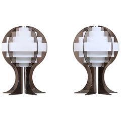 Pair of Flemming Brylle & Preben Jacobsen Table Lamps, 1960s