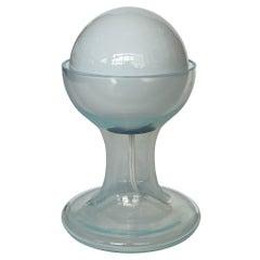 Carlo Nason Opalescent Murano Glass Petite Table Lamp for Mazzega