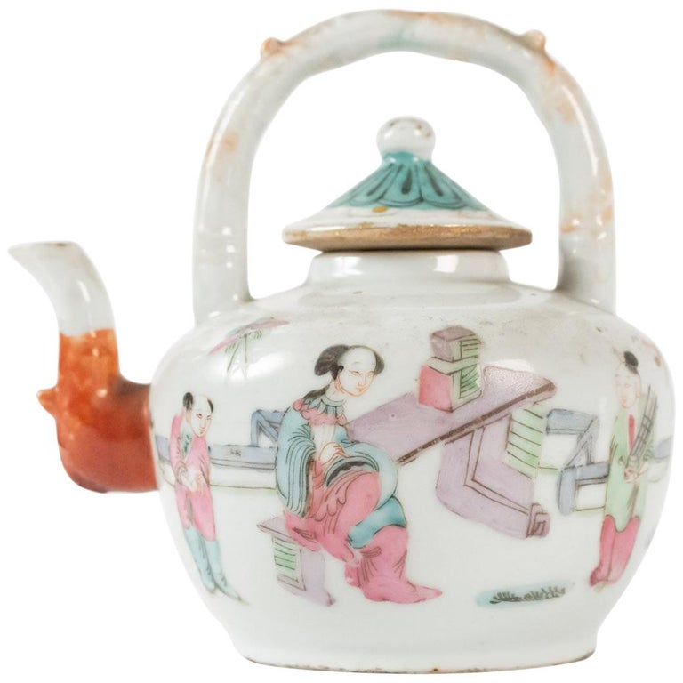 Tea, China, Antiques, Asian Art, 19th Century For Sale