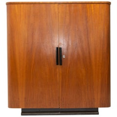 Art Deco or Functionalist Cabinet Designed by Jindřich Halabala for UP Závody