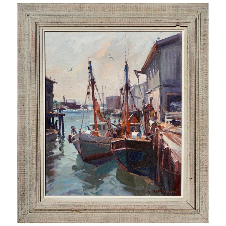 """Emile Albert Gruppe """"In from the Catch"""" For Sale"""