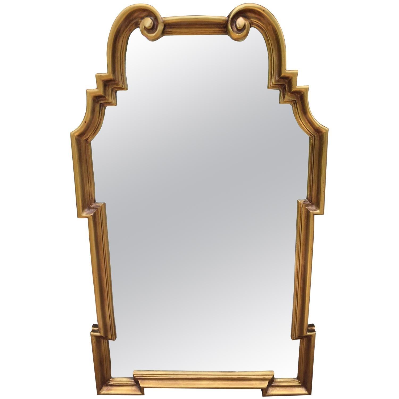 Italian La Barge Hollywood Regency Gilt Mirror