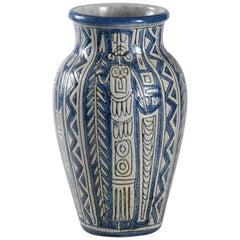 Fratelli Fanciullacci Italy Tribal Vase, circa 1968