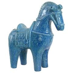 Bitossi Aldo Londi Horse Italy, circa 1968