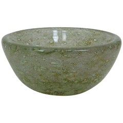 Ercole Barovier for Barovier & Toso 'Spuma Di Mare' Murano Art Glass Bowl