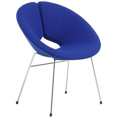 Artifort Little Apollo Chair in Blue by Patrick Norguet