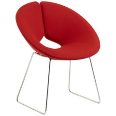 Artifort Little Apollo Chair in Red by Patrick Norguet