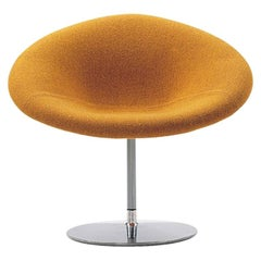 Artifort Little Globe Chair in Yellow by Pierre Paulin