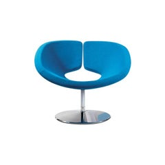 Artifort Apollo Chair in Blue by Patrick Norguet