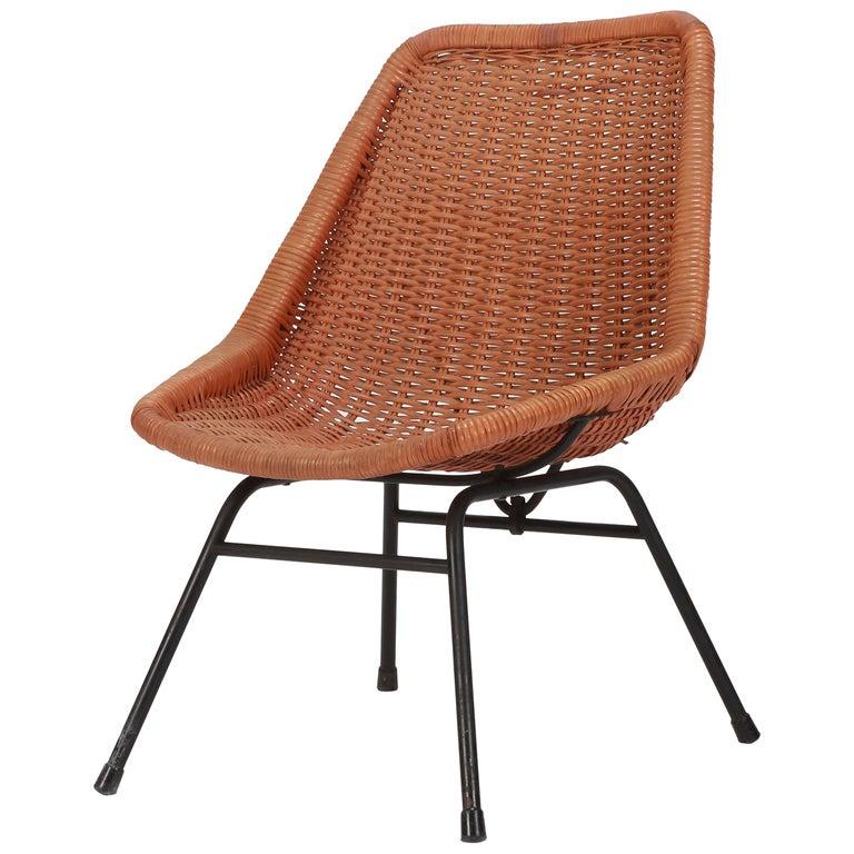 Egon Eiermann Single Chair, 1950s For Sale