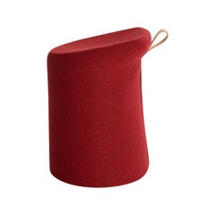 Artifort Lilla 2.0 Pouf in Red by Patrick Norguet
