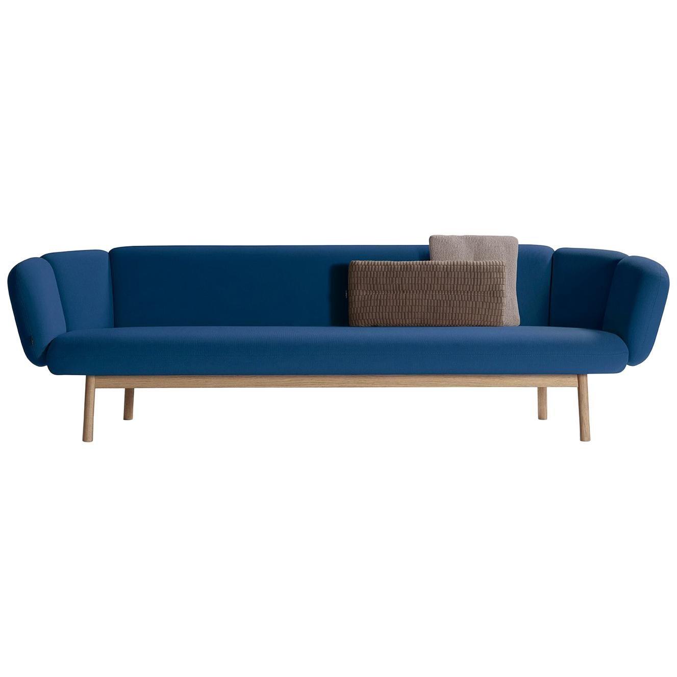 Artifort Bras Sofa in Blue by Khodi Feiz