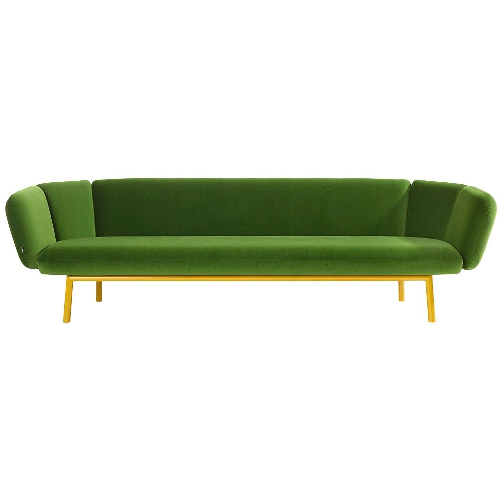 Artifort Bras Sofa in Green by Khodi Feiz