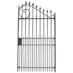 Wardrobe Coat Rack Made of Antique Wrought-Iron Gate