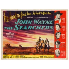 """The Searchers"" UK Film Poster, 1956"