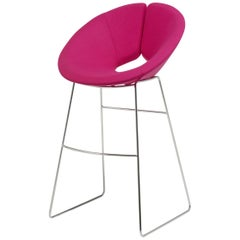 Artifort Little Apollo Barstool in Pink by Patrick Norguet