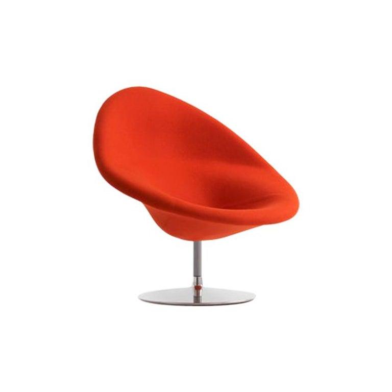 Artifort Globe Chair in Dark Orange by Pierre Paulin For Sale
